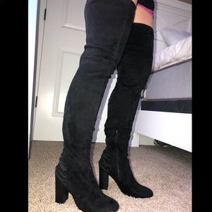 Shoes - Pristine! Over the knee boots